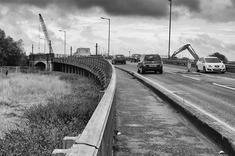 Grim On Chelmer Viaduct
