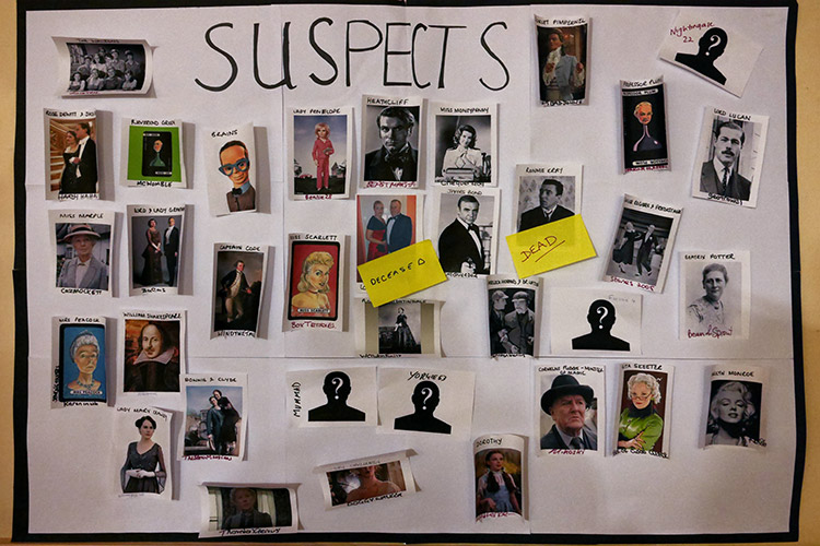 Suspects On The Board (Attendee Log)