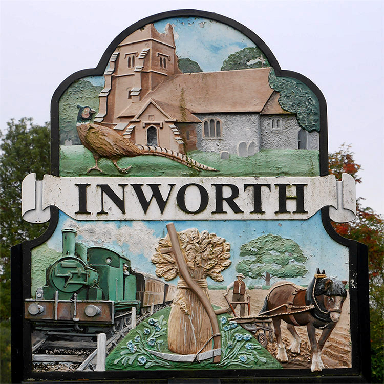 The Inworth Sign