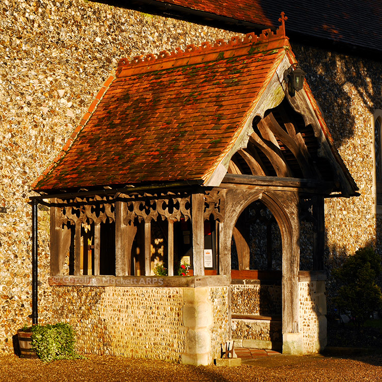 Aldham Church Porch