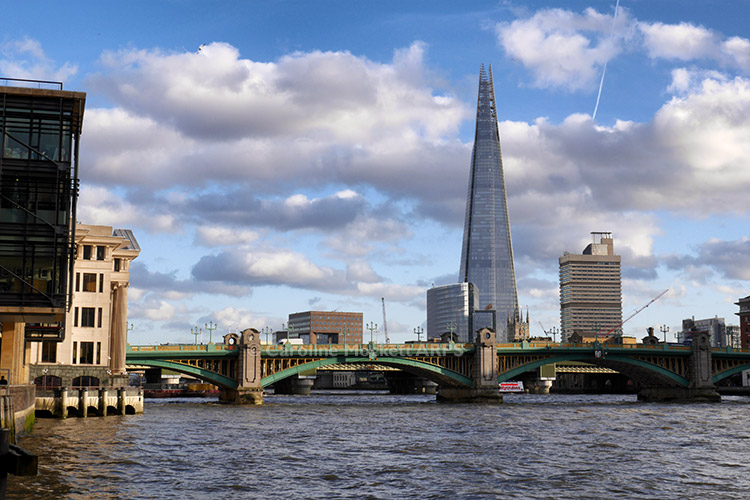 The Shard Across The Thames