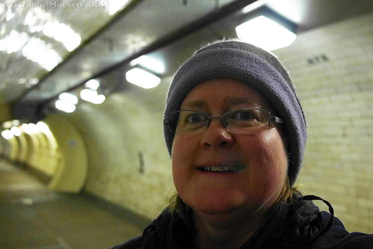 First Virtual Of The Day, Greenwich Foot Tunnel