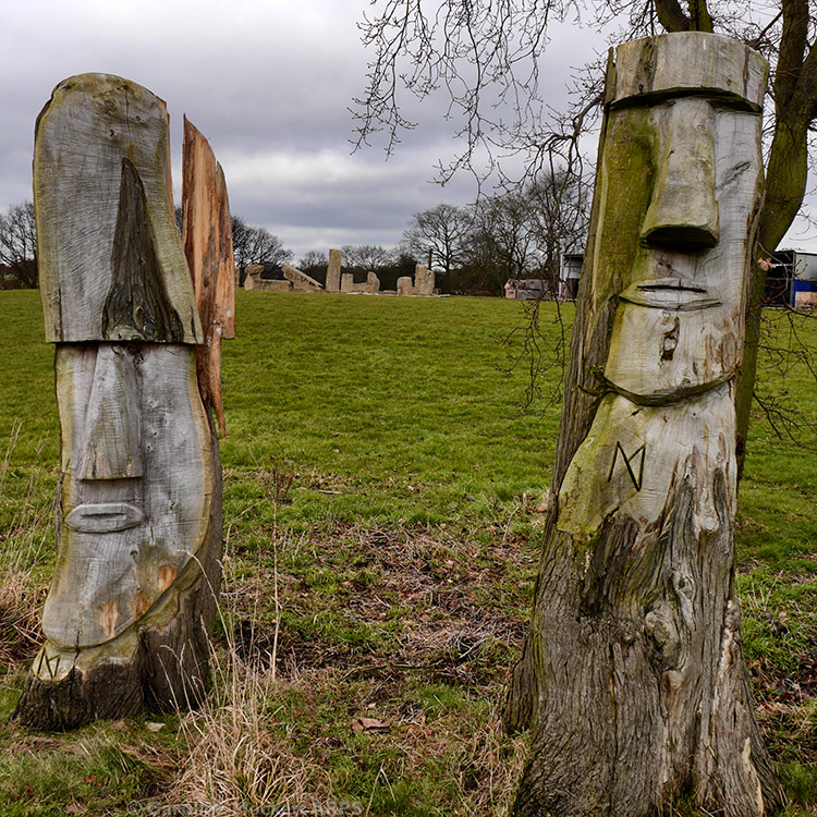 Easter Island Comes To Weeley?