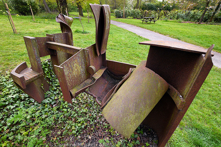Shenley Sculpture To The Rescue