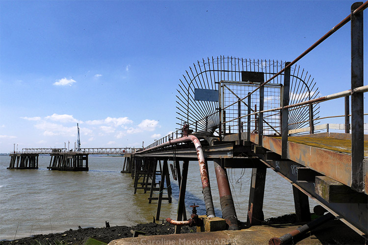 Jetty At Cliffe Fort