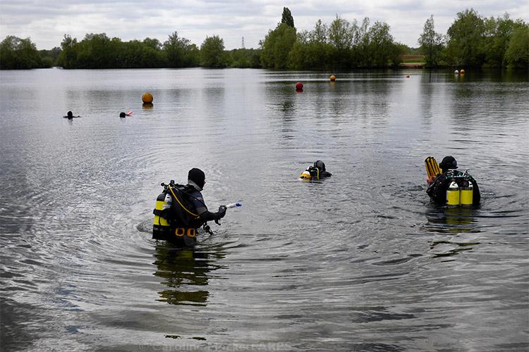 Divers Emerge