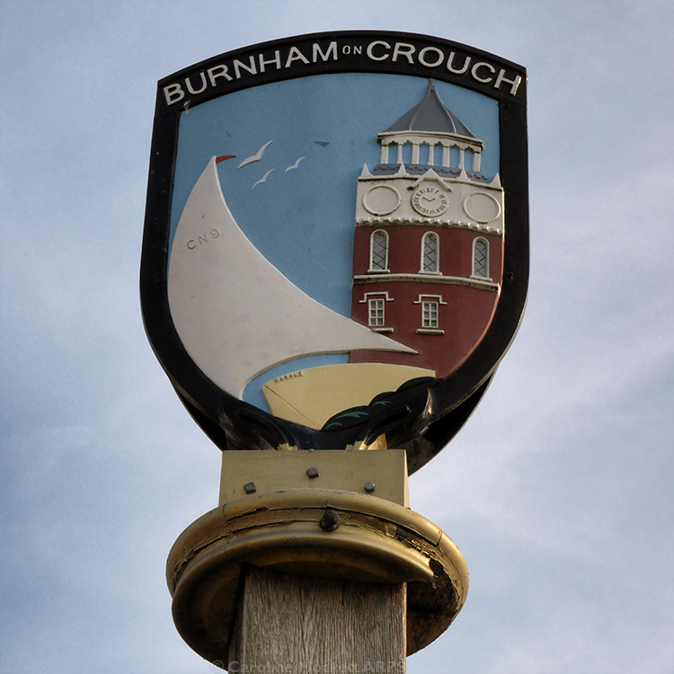 Burnham On Crouch Sign