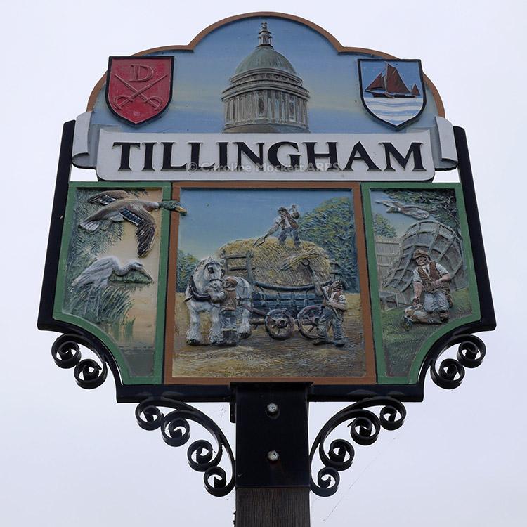 Tillingham Sign