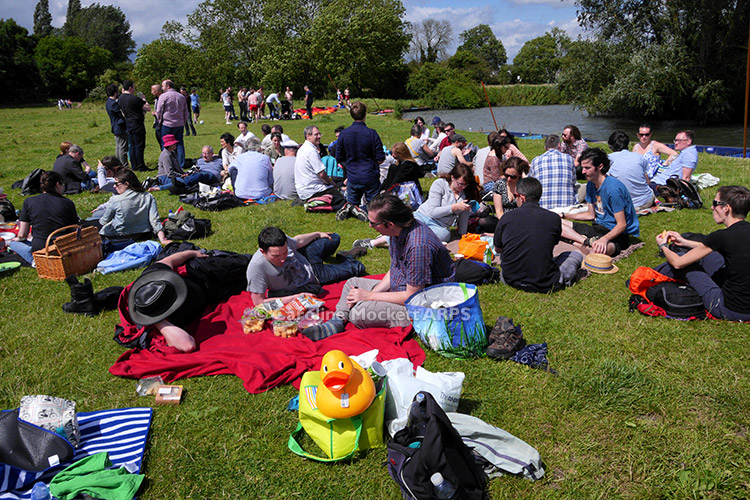 Picnic On Grantchester Meadows