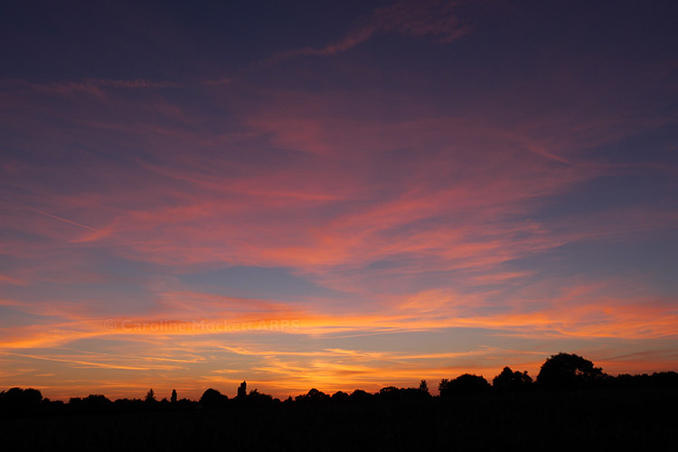 Lovely Sunset At Moreton Church