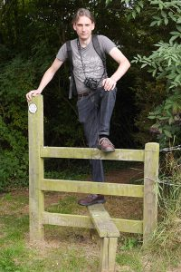 Alistair Climbs A Pointless Stile
