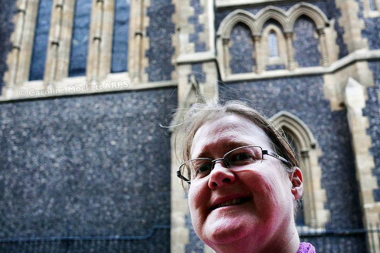 Selfie At Southwark Cathedral