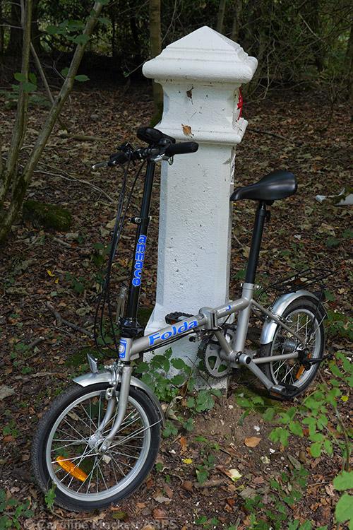 Coal Post 149 And The Geo-Bike