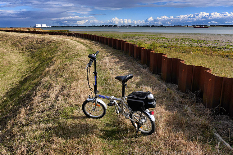 Geobike & Bradwell In The Distance