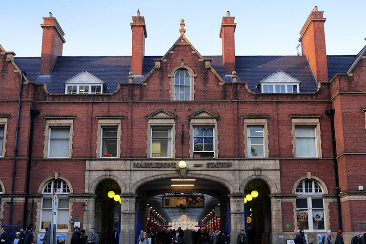 Marylebone Station Facade