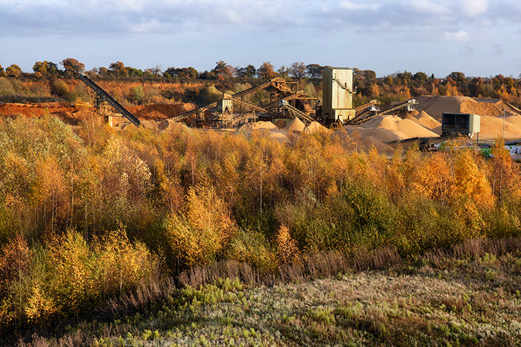 Gravel Pit Workings